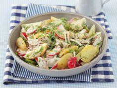 bunt & gesund: Bunter Kartoffelsalat mit Rüben und Gurke - smarter - Zeit: 30 Min. | eatsmarter.de