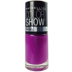 """Maybelline New York Color Show Nail Lacquer, """"choose Your Shade"""" (Fuchsia Fever)"""