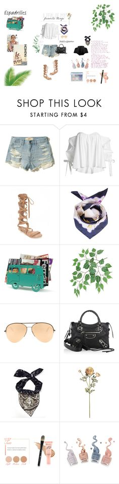 """""""Summer Vibes"""" by jesselyngunawan ❤ liked on Polyvore featuring Hollister Co., Caroline Constas, Matisse, Victoria Beckham, Balenciaga, Matthew Williamson, BHCosmetics and Nasty Gal"""