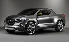Hyundai Santa Cruz Crossover concept- still want one!
