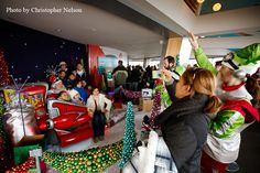 Seattle's Coolest Santa & His Out-of-this-World Workshop, Seattle Space Needle