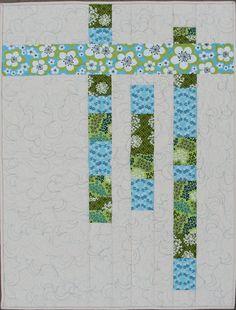 Quilt Pattern PDF Beginner Modern Quilt by ModernOrganicQuilter. $9.00 USD, via Etsy.