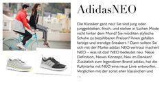 adidasNEO Shopping, Stylo Shoes, Sporty, Guys