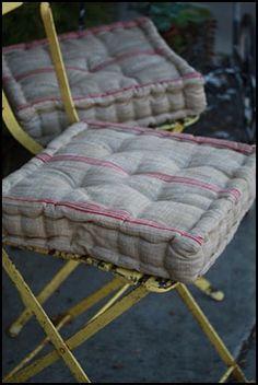 french stitch cushion