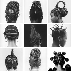 Hair sculpture