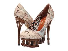 Charlotte Olympia Rattan Dolly