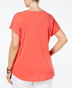 Made In The 80's Women's V Neck Plus Size T Shirt