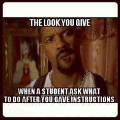 Teacher humor.  Lol.