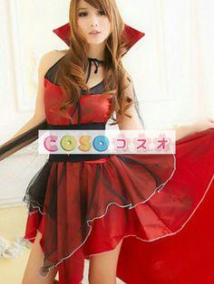 ファンタジー仮装 ハロウィン コスチューム衣装 バンパイア 女性用 大人用 ―festival-0189