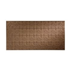Fasade Traditional 2 Argent Bronze Wall Panel (4'x8') - Overstock Shopping - Big Discounts on Fasade Wall Tiles