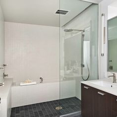 Tub Shower Combo Design Ideas, Pictures, Remodel, and Decor - page 7