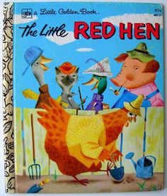 Childhood Memory Keeper: Retro Pop Culture from the 1960s, 1970s and 1980s: Little Golden Book: The Little Red Hen