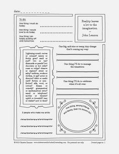 free journal templates printable and planners pinterest