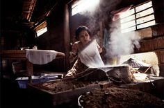 EDITOR'S PIC OF THE DAY A woman making rice paper, Mekong Delta, Vietnam. Photo: ALBERTINA D'URSO
