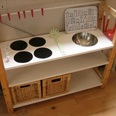 How to make a play kitchen!