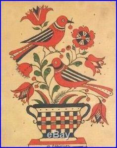 Black Love Art, Art Impressions, Applique Quilts, Folk Art Paintings, Vintage Flowers, Watercolor Paintings, Abstract Art, Pennsylvania Dutch, Birds
