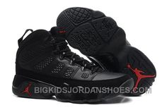 innovative design ce3bb f5623 Find New Air Jordan 9 GS Black Dark Charcoal-Varsity Red Cheap To Buy online  or in Pumarihanna. Shop Top Brands and the latest styles New Air Jordan 9  GS ...