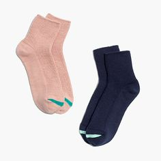 Madewell - Two-Pack Ribbed Ankle Socks
