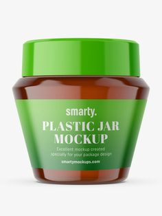 Perfect for any cosmetic or pharmacy packshots. Smart Object layer with label covers entire jar. Free Mockup Templates, Design Your Own, Free Design, Packaging Design, Amber, Jar, Pharmacy, Author, Apothecary