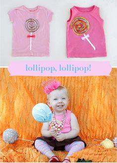 Lollipop Shirt Tutorial
