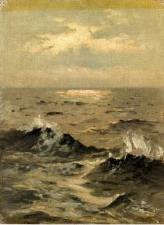 John Singer Sargent's Seascape. He is one of my favorite painters and painted many of my portraits.