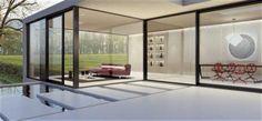Maximize your indoor/outdoor living space with custom sized aluminium lift & slide patio doors. Aluminium Sliding Doors, Sliding Patio Doors, Casement Windows, Windows And Doors, Stacking Doors, Modern Entrance Door, Vancouver House, Indoor Outdoor Living, House And Home Magazine