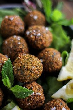 Truly Authentic Falafel recipe || @thismessisours #glutenfree #vegan