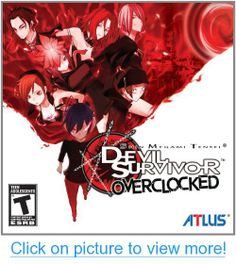 Learn more details about Shin Megami Tensei: Devil Survivor Overclocked for Nintendo and take a look at gameplay screenshots and videos. Nintendo 3ds Games, Playstation Games, Best 3ds Games, Video Game Museum, Test Games, Shin Megami Tensei, The Eighth Day, Games For Girls, Game Art