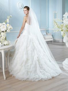 Vestido de novia, modelo Haddo de St. Patrick 2014  www.sanpatrickgranada.es