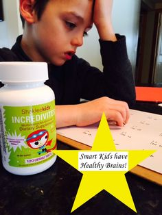 Children's brains grow at an alarming rate! Everyday they make neurons and neural connections. Having smart kids, starts with good nutrition! There is no comparison to Shaklee's incredivites! Since my kids started these we have drastically decreased the need for antibiotics and sick visits! #healthykids #smartkids #kidsnutrition