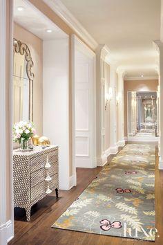 wandfarbe apricot der frische trend bei der wandgestaltung in 40 beispielen teppichl ufer. Black Bedroom Furniture Sets. Home Design Ideas