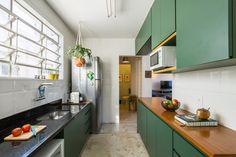 Casinha colorida: Belas tendências para as cozinhas
