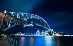 Harbour Bridge, Sydney.