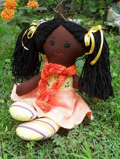 Boneca de pano by jodrika, via Flickr