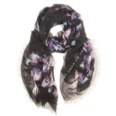 Shooting Houndstooth Print Scarf ☼ Marc by Marc Jacobs ☆ mytheresa