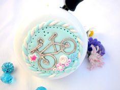 Vidám biciklizés - kerékpár csengő, Mindenmás, Meska Polymer Clay, Bike, Mint, Bicycle, Cruiser Bicycle, Bicycles