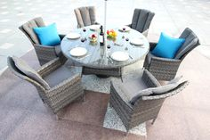 Brooks Rattan Garden Furniture introduces you to the brand new Sunbrella Fabric Furniture consisting of new and unique, indoor and outdoor furniture. Sunbrella Outdoor Furniture, Rattan Garden Furniture, Outdoor Furniture Sets, Outdoor Decor, Discount Furniture, Online Furniture, Round Dining Set, Sunbrella Fabric, Atlanta
