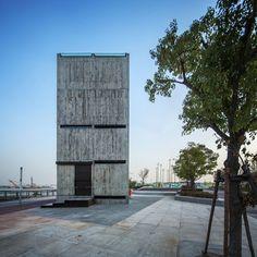 Vertical Glass House by Atelier FCJZ