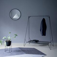 Anker Rack - Black  - by Christian Troels & Jonas Poulsen for Menu | MONOQI #DesignIcons