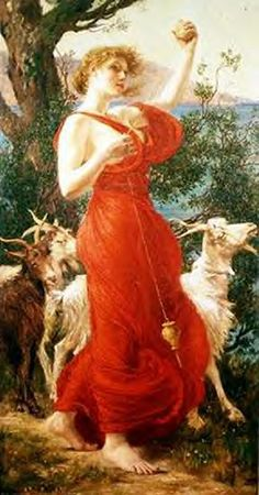 The Goat Girl ~ Edith Corbet