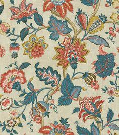 Home Decor Print Fabric-Pkaufmann Boscobel Patriot  reg. $19.99