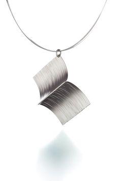 Boforia pendant Material: Silver Designed by Heli Kauhanen