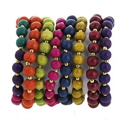 Amazon.com: Bollywood Jewels Colorful Bead String Cluster Costume Bracelet Fashion Jewelry Indian: Furniture & Decor