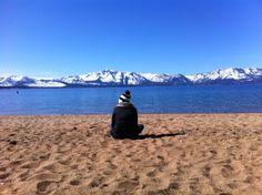 Lake Tahoe solitude