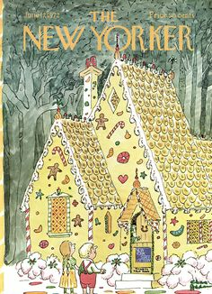 The New Yorker - Saturday, June 17, 1972 - Issue # 2470 - Vol. 48 - N° 17 - Cover by : Charles Addams