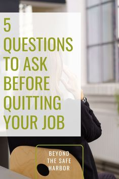 Unhappy at work? Considering a new job? Ask yourself these five key questions to help you decide whether you should change roles. Career Quiz, Career Advice, Job Career, Hate Your Boss, Unhappy At Work, Hating Your Job, Work Goals, Ways To Reduce Stress, Finding A New Job