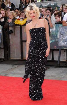 Pixie Geldof in Dolce & Gabbana, 2011