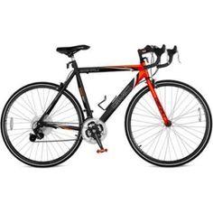 "25"" GMC Denali 700c Men's Road Bike,Black-Orange New #GMC"