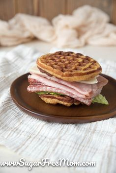 Dairy Free Keto Chaffle Recipe (Sugar Free, Gluten Free, Nut Free) – Famous Last Words Best Paleo Recipes, Gluten Free Recipes, Favorite Recipes, Flour Recipes, Delicious Recipes, Beef Gelatin Powder, Nut Free, Grain Free, Sugar Free Bacon