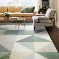 Our modern carpet tiles allow you to create custom, unique area rugs that are as durable as they are stylish. Design your perfect rug with FLOR. Bedroom Carpet, Living Room Carpet, Carpet Design, Floor Design, Carpet Tiles, Rugs On Carpet, Hall Carpet, Carpet Stairs, Cost Of Carpet